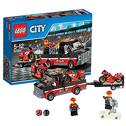 LEGO City Great Vehicles 60084 - Trasportatore di Moto da Corsa