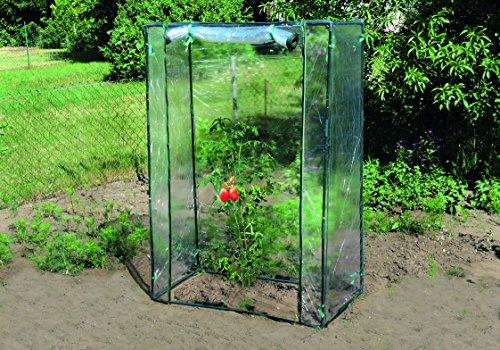 Tomatenhaus L 100 x B 50 x H 150 cm , perfekt zur Anzucht von Tomaten Greenhouse, Foliengewächshaus, Tomatenzelt, Anzucht