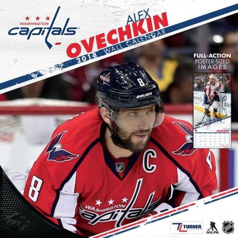 Washington Capitals Alex Ovechkin 2018 Calendar (Trikots Turner)