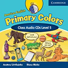 American English Primary Colors 5 Class Audio CDs: Level 5