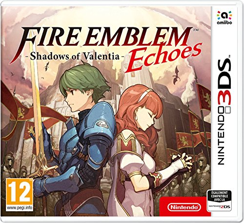 Fire Emblem Echoes Shadows of Valentia (3DS) (3ds Nintendo Xl Fire)