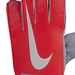 b2571634d0bab Nike GS0368 671 Guantes de Portero Unisex ni os Gris Wolf Rojo Crimson S