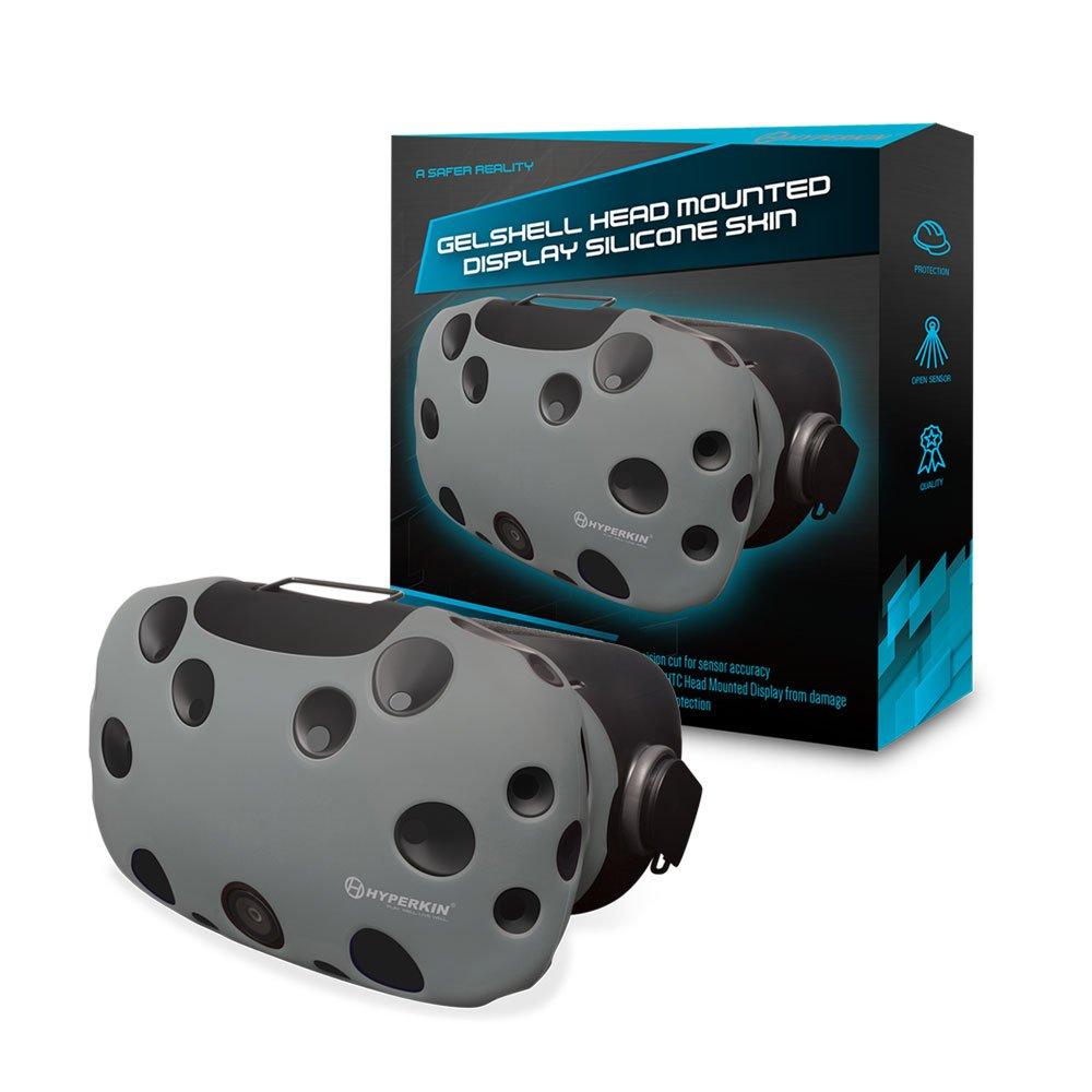 Housse Silicone Gelshell pour HTC Vive – Casque VR – gris