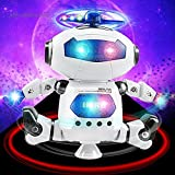 #7: Magicwand Walking Dancing Robot with Music & 3D Lights & 360 Rotation
