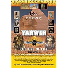 Igbo Mediators of Yahweh Culture of Life: Volume 1:Learn to Read Egyptian Hieroglyphs and UFO Writings by Philip Chidi Njemanze MD (2015-11-19)
