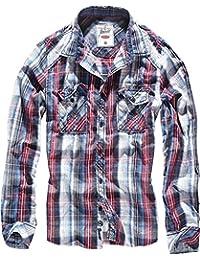 Brandit Central City Check Shirt Vintage Hemd