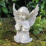 Mui Eden Engel Garten Dekofigur Engelsfigur Cherubim Statue Engels Skulptur Grabdeko Garden Decor