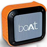 #8: Boat Stone 200 Portable Bluetooth Speakers (Orange)
