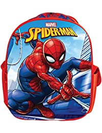 Spiderman EVA Red & Blue School Bag For Children Of Age 3 To 5 Years | Imported Premium Quality | Certified Safe...