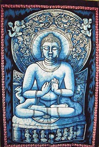 ster, Indian Poster, religiöse Wand Kunst, Bohemian Wohnheim Dekor, Hippie Wanddekoration Wandteppich 76,2x 101,6cm ()
