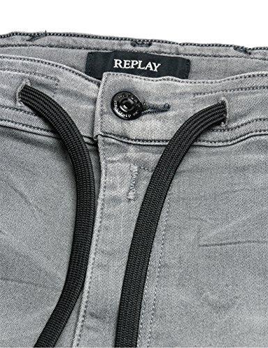 Replay Herren Jeanshose Grey