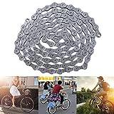 Cadena plegable para bicicleta Broadroot cadena de ciclismo de acero inoxidable de 9 velocidades