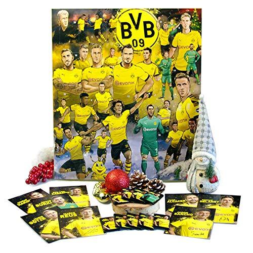 Exklusiver BVB-Comic-Adventskalender - Der lustige Weihnachts-Countdown aus Fairtrade-Kakao mit Autogrammkarten und Fanshop-Gutschein plus versch. Gewinnmöglichkeiten (200 g) (Borussia Dortmund)