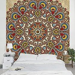 Fotomural - Coloured Mandala - Mural cuadrado, papel pintado, fotomurales, murales pared, papel para pared, foto, mural, pared barato, decorativo