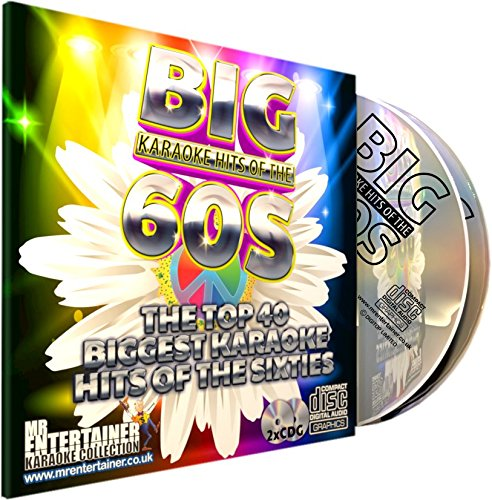 Mr Entertainer Big Karaoke Hits of The 60's (Sixties) - Double CD+G (CDG) Pack. 40 Classic Songs....