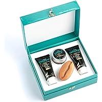 mCaffeine Mild Brew - Latte Gift Kit | Intensely Moisturizes, Nourishes & Repairs the Skin | Face Wash, Face Scrub, Face…
