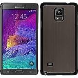 Funda Rígida para Samsung Galaxy Note 4 - metálico oro - Cover PhoneNatic Cubierta + protector de pantalla