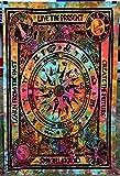 Art Decor Wandteppich, Tagesdecke, Hippie-Wandteppich, indisch