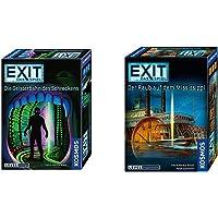 KOSMOS 697907 EXIT - Das Spiel - Die Geisterbahn des Schreckens, Level: Einsteiger, Escape Room Spiel & Das Spiel - Der…