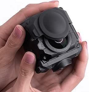 Holaca Schützende Linsenabdeckung Für Garmin Virb 360 Kamera Silikon Schutzhülle Für Garmin Virb 360 Robuste Wasserdicht 360 Kamera Sport Freizeit