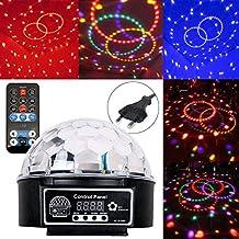 BAODE Luz LED disco Efecto Bola de Discoteca Magic DMX512 RGB Proyector para Fiestas Discotecas