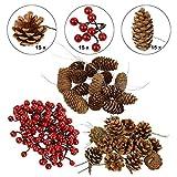 BB Sport Albero di Natale Artificiale in Different Misure e Colori, Colore:Decorazione Natalizia della Natura, Lunghezza:-