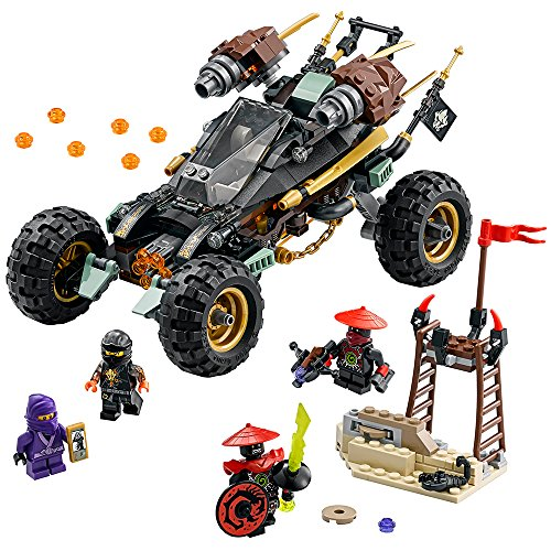LEGO Ninjago 70589 - Felsen-Buggy, Spaßiges Spielzeug