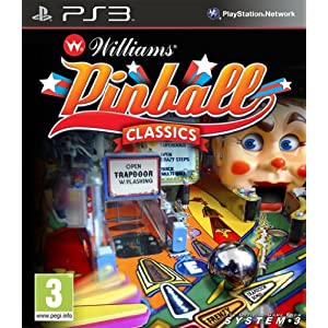 Williams Pinball Classics PS3 by Nioxin