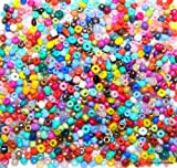 Make It With Beads 2-2.5mm Size 11/0 Mixed Colour Opaque & Ceylon Glass Seed Beads