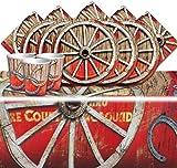 Wild West Rodeo Cowboy Sommer BBQ Kinder Geburtstag Party Geschirr Pack für 16