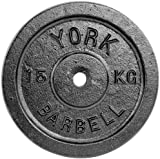 York Fitness Single Standard Cast Iron Disc