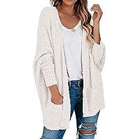 Litthing Cardigan Donna Manica Giacca Maniche Lunga Casuale del Allentato Maglione Cappotto Lungo Oversize in Maglia…