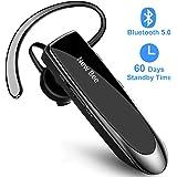 New bee Bluetooth Headset V5.0 Wireless Headset Bluetooth Freisprechen im Ohr mit Clear Voice Capture Technologie Bluetooth In-Ear Headset für iPhone Samsung Huawei HTC, Sony, usw