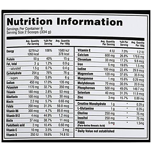 Optimum Nutrition (ON) Serious Mass Chocolate - 6 lbs