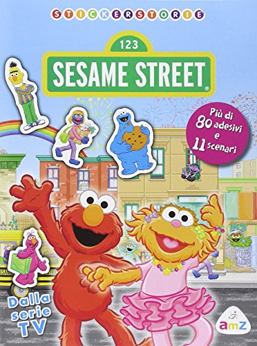 Sesame street sticker storie