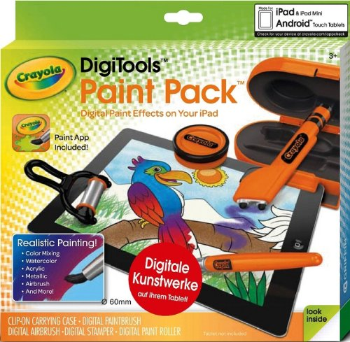 CRAYOLA DIGITOOLS PAINT PACK-