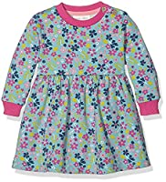 Kite Baby Girls 0-24m Forget-Me Dress, Blue (Azure), 12-18 Months (Manufacturer Size:12-18M)