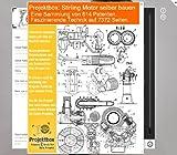 Stirling Motor selber bauen: Deine Projektbox inkl. 614 Original-Patenten bringt Dich mit Spa� ans Ziel! Bild