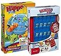 Hasbro Jeux DE 2Jeux de Voyages b1001100–Hippo Flipp Compact 27469100–Qui Est-Ce?? Compact