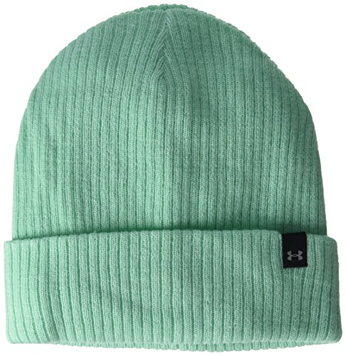 Under Armour Damen UA Favorite Knit Beanie Sportswear-Hüte, Grün, OSFA