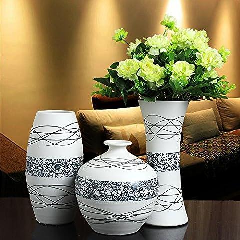 XOYOYO Jingdezhen Ceramic Vase Blumen Dekoration Wohnungseinrichtung Esszimmer Tv Cabinet Cabinet Einrichtung Kunst, Eine Linie Von Sonnenblumen