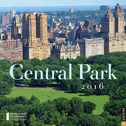 Central Park 2016 Wall Calendar (Park Zoo Central)