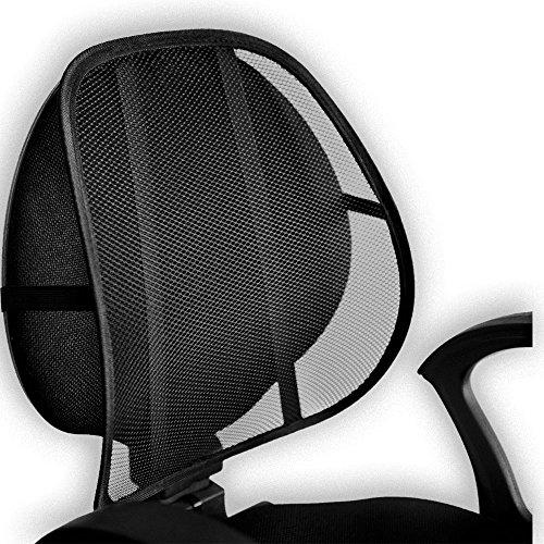 Respaldo lumbar de quita y pon | Rejilla transpirable