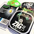 FTD - 2 x 100m Spool of KORDA ZIG / FLOATER Hook length Fishing Line for Making Rigs - Single Size and Combo (7lb/3.2kg 9lb/4.1kg 11lb/5.0kg) Comes with 10 FTD Hooks by KORDA