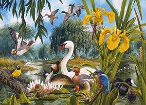 Puzzle de 1000 Piezas de Gibsons, el Lago de los cisnes
