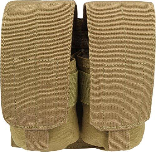 normani Magazintasche M4/M16 Doppel 2 Single Mag Pouch Farbe Coyote (Single Mag M16 Pouch)
