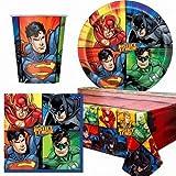 Sconosciuto Justice League Servizio da tavola da Festa per 8