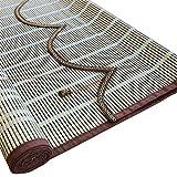 Cortina de Bambu- Persianas De Bambú Roman Shades, Cortinas Plisadas para Ventana/Interior/Puerta/Salón De Té, Sistema De Elevación Lateral (Tamaño : 120x200cm)