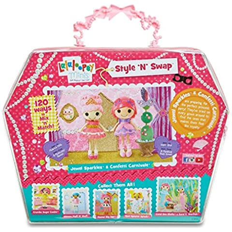 Lalaloopsy Deluxe Princess - muñecas (Chica, Multicolor, De plástico, Vestido para muñecas, Zapatos, Femenino,