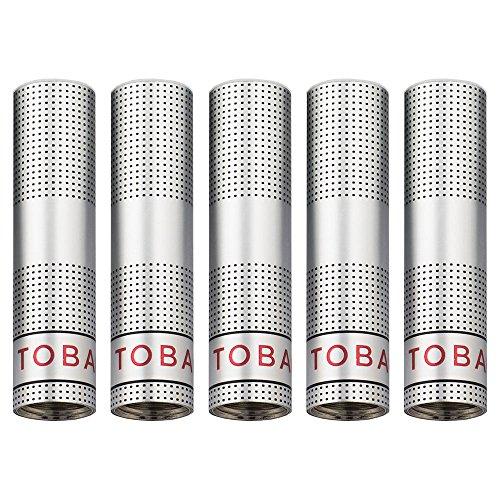 10 filtros para Cigarrillo Electrónico recargable Ezee | Sabor Tabaco | Sin Nicotina y sin tabaco